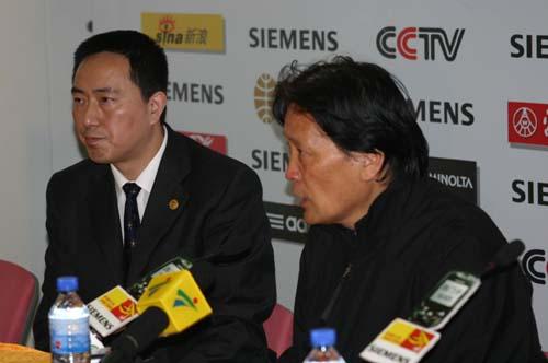 图文-[亚洲杯]中国2-0巴勒斯坦朱广沪满意国足表现