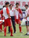 图文-国足主教练朱广沪率领国足剑指欧洲豪强
