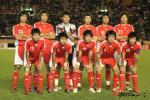 图文-中国国奥0-2日本未能复仇国奥11虎将斗志依旧