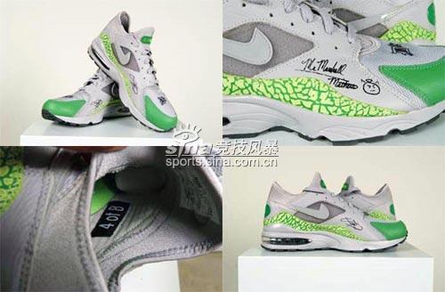 让爆裂纹与你同步NikeAirMax阿姆个人设计版