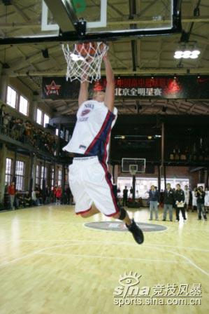 CHBL-NIKE中国高中篮球联赛北京全明星赛扣篮大赛