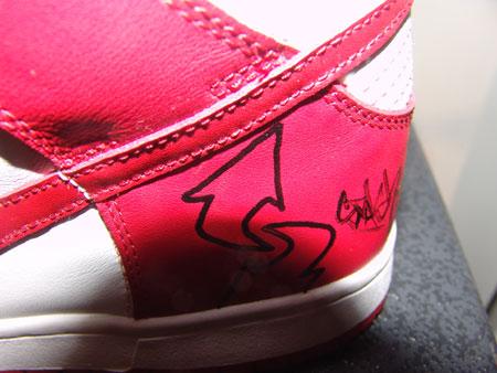 图文-我为鞋狂与艺术大师零距离STASH大名清晰可见