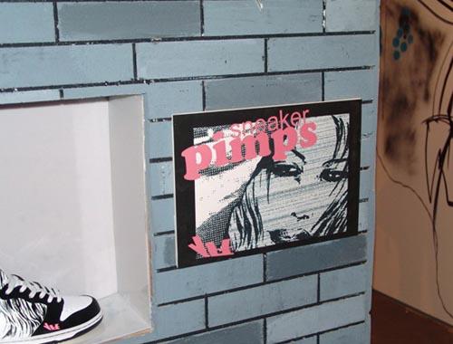 图文-SneakerPimps北京站壁画展现波鞋艺术