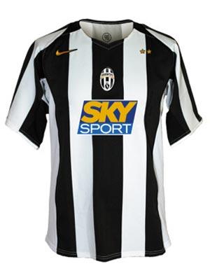 NIKE春季足球装备推荐:尤文图斯主场比赛短袖