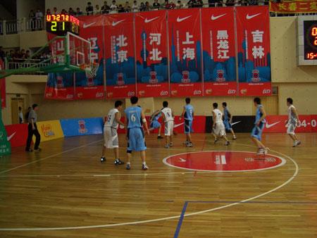 NIKE高中联赛半决赛南京9中82-68石家庄2中(3)
