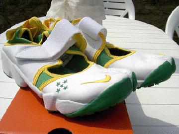 NikeAirRift再演巴西文化忍者巴西助威世界杯