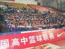 图文-NIKE高中篮球联赛吉林赛区现场啦啦队方阵