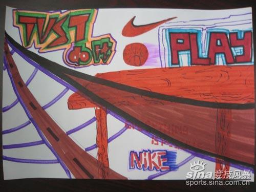 图文-[高中联赛]各校学生展示DIY海报沪市西中学