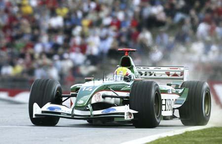 F1奥地利大奖赛 美洲虎韦伯位居中游