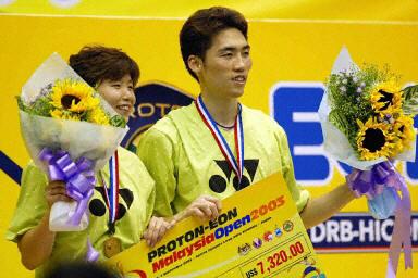 图文-马来西亚羽球公开赛落幕韩国选手夺混双冠军
