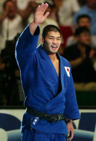 图文-柔道世锦赛:日本井上康生男子100公斤级夺冠图片