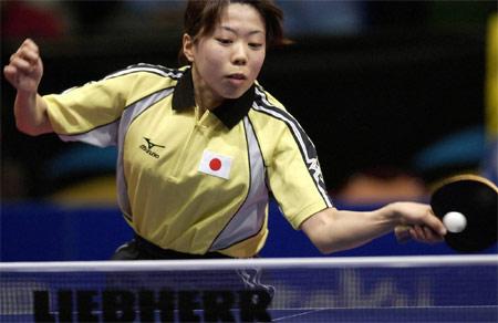 世乒赛中国女队险胜日本 藤沼亚衣战胜李菊