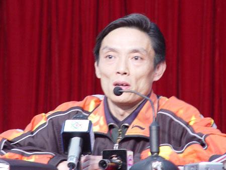 图文-国乒宣布亚洲区预选赛名单 陆元盛出席发布会图片