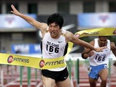 普雷方丹田径赛刘翔赛季最佳夺冠约翰逊再出局