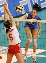总决赛中国女排遭两连败逢意大利不胜记录延续