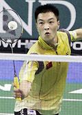羽毛球世锦赛:中国男单遭重创林丹孤身进四强