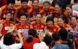 """女排亚锦赛中国""""十连冠""""3-0力克强手创造历史"""