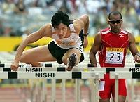 横滨田径全明星赛刘翔绝对优势卫冕110米栏冠军
