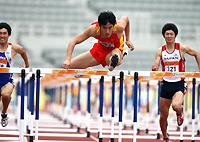 东亚运刘翔破赛会纪录卫冕史冬鹏发挥出色摘银