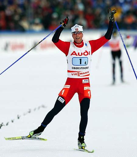 图片资料-2005年北欧两项世锦赛竞速赛季军哈默