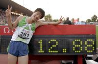 洛桑田径超级大奖赛刘翔12秒88打破世界纪录卫冕