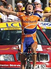 环法第16赛段拉斯姆森夺冠佩雷罗获第三复得黄衫