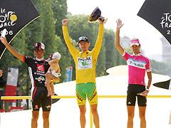 06环法自行车赛落下大幕兰迪斯夺总冠军笑傲群雄