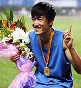 全国锦标赛决赛方显飞人本色刘翔破纪录后夺首冠