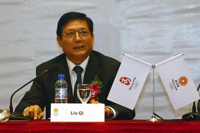 刘淇:北京奥运遵循国籍惯例6措施保障外国记者采访
