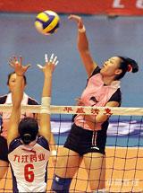 女排联赛揭幕:山东反客为主克河南四川轻取广东