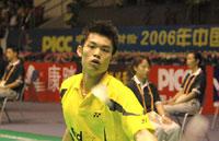 中国赛揭幕林丹轻取日本选手海峡德比鲍春来完胜