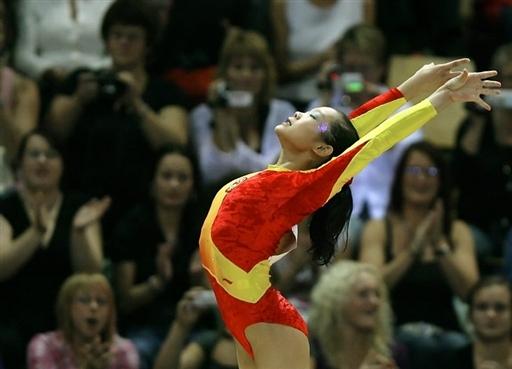 程菲成中国世锦赛女子第一人绝对统治力明星渐现