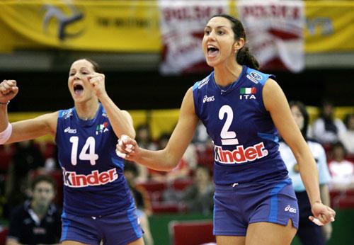 资料图片-女排世锦赛落幕意大利二传罗比安科
