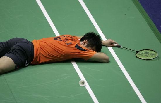 马来西亚超级赛林丹意外失利鲍春来完胜陈金险胜