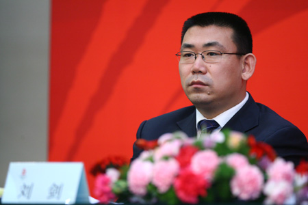 奥运志愿者部部长刘剑:希望所有市民都能参与奥运