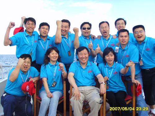 """董事长""""出征""""美帆赛世界冠军表达助中国之队决心"""