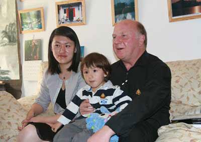 奥运家庭畅游北京+老外20年光阴成为老北京