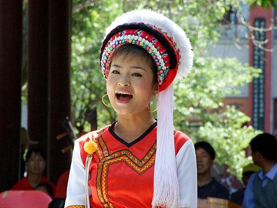 鹤庆白族服饰新娘