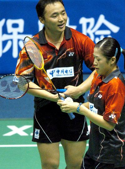 中国羽球赛张军高凌爆冷出局交流战术