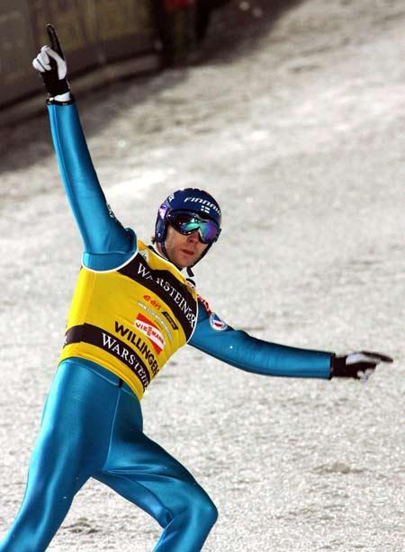 图文-德国高山滑雪世界杯阿霍宁展示王者风范