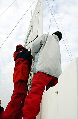 图文-纵横四海远航活动准备工作平时海上训练