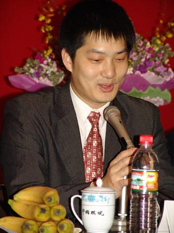 中国棋院庆祝应氏杯夺冠常昊发表感想