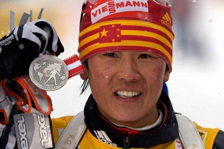 冬季两项世锦赛孙日波错失金牌失声痛哭感人至深