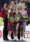 图文-花样滑世锦赛冰舞自由舞三大美女竞相争艳