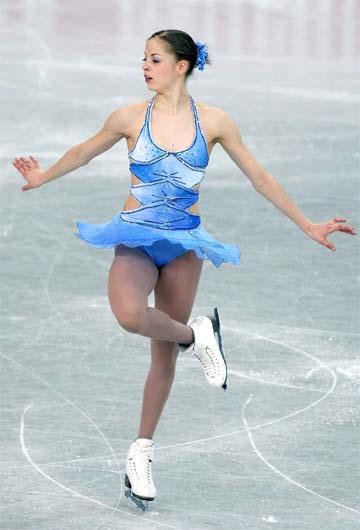 图文-花样滑世锦赛冰上公主科斯特纳冰上公主