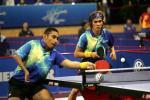 图文-世乒赛男双首轮比赛印尼选手让人惊讶