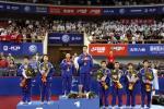 图文-世乒赛混双决赛激战一共分享胜利的喜悦