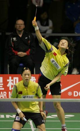 图文-[苏迪曼杯首日]中国5比0瑞典黄�[举火燎天