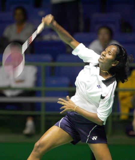 图文-苏迪曼杯羽毛球赛次日斯里兰卡女将出战