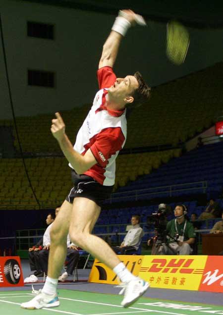 图文-苏迪曼杯羽毛球赛次日世界第一搭档名不虚传